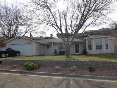 La Verkin Single Family Home For Sale: 275 W 530 N