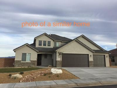 St George Single Family Home For Sale: 6258 S Awestruck Way