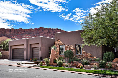 St George Single Family Home For Sale: 3052 N Snow Canyon #39