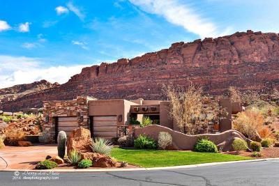 St George Single Family Home For Sale: 2336 W Entrada Trail #41