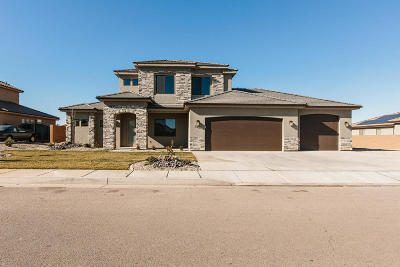 St George Single Family Home For Sale: 3374 S 2240 E