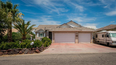 St George Single Family Home For Sale: 2267 S Pintura Dr