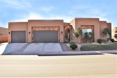 Hurricane Single Family Home For Sale: 5471 W Desert Hollow Ln