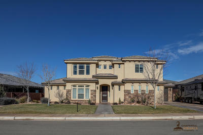 St George Single Family Home For Sale: 2649 E 3800 S