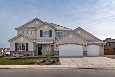 St George Single Family Home For Sale: 3451 S Garden Dr