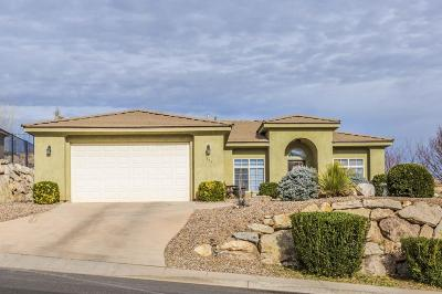 Hurricane Single Family Home For Sale: 335 E 860 N