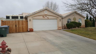 St George Single Family Home For Sale: 1510 N 1540 W