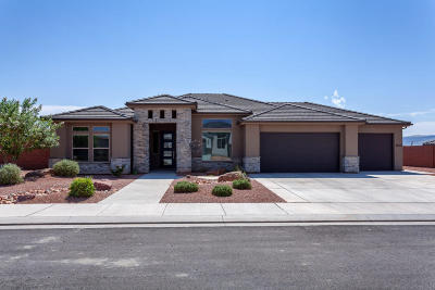St George Single Family Home For Sale: 3402 E Chimney Rock