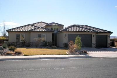 Dixie Springs Single Family Home For Sale: 4219 W 2700 S