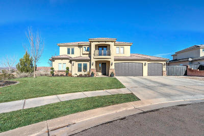 St George Single Family Home For Sale: 2743 E Amaranth Dr