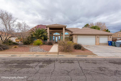 Ivins Single Family Home For Sale: 455 E 200 S