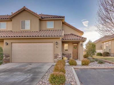 Washington Single Family Home For Sale: 150 N 1100 E #43
