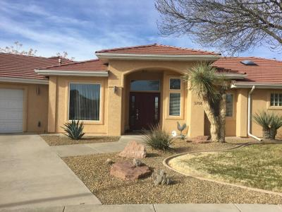 St George Single Family Home For Sale: 3758 S 1700 W