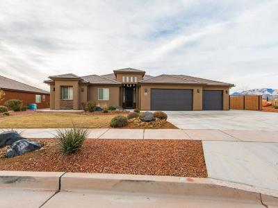 Ivins Single Family Home For Sale: 382 W 200 S