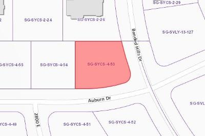 St George Residential Lots & Land For Sale: 3000 E Auburn Dr S
