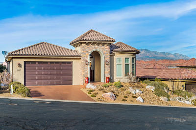 St George UT Single Family Home For Sale: $739,000