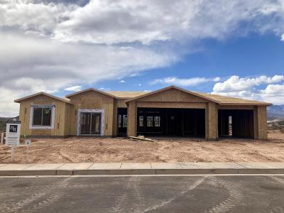 Toquerville Single Family Home For Sale: 357 E Zion Trail South