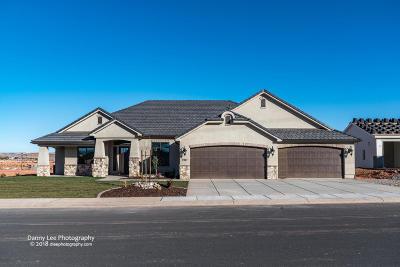 St George Single Family Home For Sale: 2947 E Horseman Park Dr