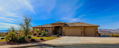 St George UT Single Family Home For Sale: $362,500