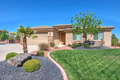 St George Single Family Home For Sale: 49 S Acantilado Dr