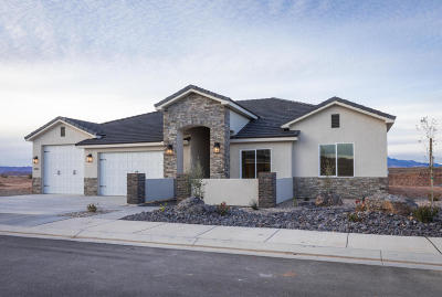 St George Single Family Home For Sale: 3533 E Cove Wash Way