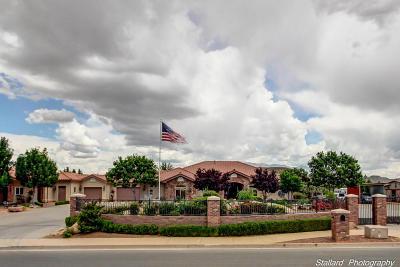 Washington Single Family Home For Sale: 445 E 3090 S