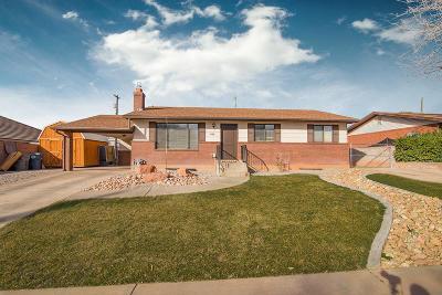 Washington Single Family Home For Sale: 345 E Bulloch