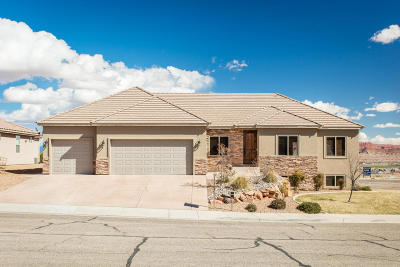 St George Single Family Home For Sale: 895 S Five Sisters Dr