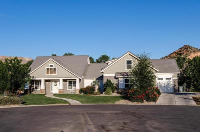 Toquerville Single Family Home For Sale: 1151 E Ocotillo