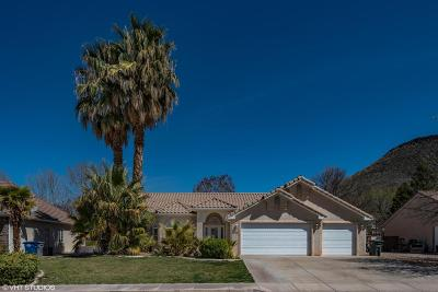 St George Single Family Home For Sale: 1186 W 250 N