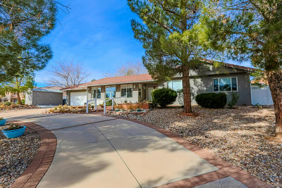 St George UT Single Family Home For Sale: $355,000