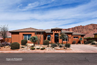 Ivins Single Family Home For Sale: 495 W Tenaya Dr