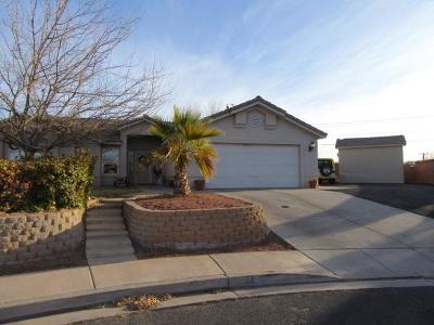 St George Single Family Home For Sale: 44 N 2590 E
