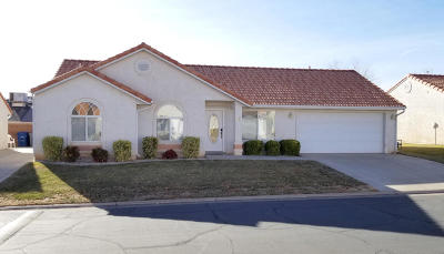 St George Single Family Home For Sale: 646 N 2450 E #32