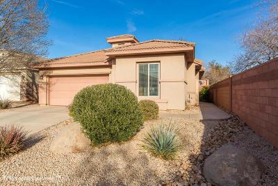 Washington Single Family Home For Sale: 3164 E Fourteen Fairway Dr