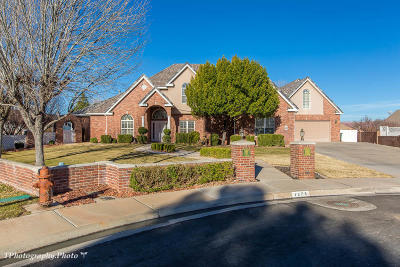 St George Single Family Home For Sale: 1275 E 1710 S