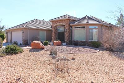 Dammeron Valley Single Family Home For Sale: 819 Wild Herb