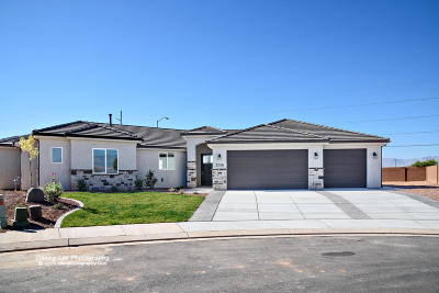 St George Single Family Home For Sale: 3026 E 2805 S