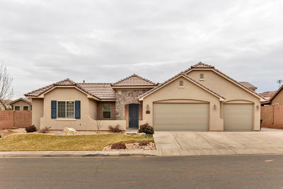St George Single Family Home For Sale: 3188 E 2890 S