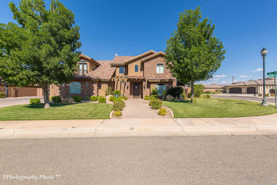 St George Single Family Home For Sale: 2701 S 3030 E
