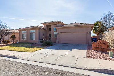 St George UT Single Family Home For Sale: $260,000