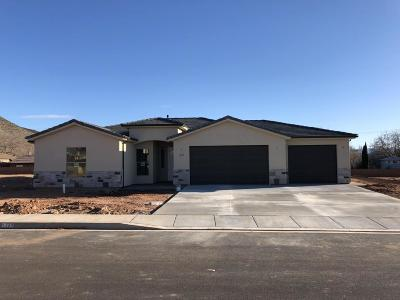 St George Single Family Home For Sale: 1207 W 790 N