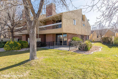 St George Condo/Townhouse For Sale: 1012 W Bloomington Dr S