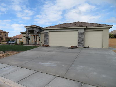 St George Single Family Home For Sale: 1986 W 390 N Cir