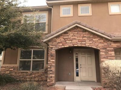 St George Condo/Townhouse For Sale: 3155 S Hidden Valley #160