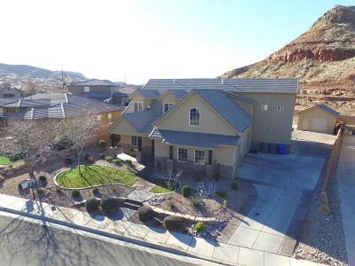 Washington Single Family Home For Sale: 758 E Desert Bloom Ct