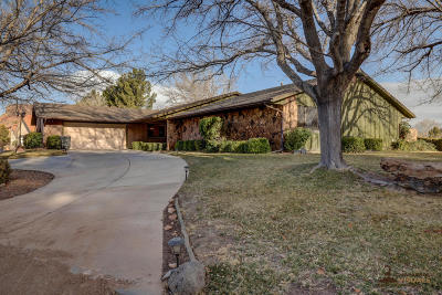 St George Single Family Home For Sale: 1144 W Bloomington Dr S