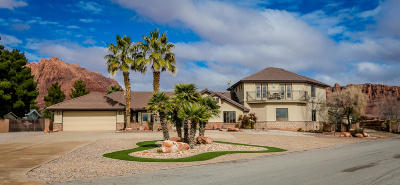 Ivins Single Family Home For Sale: 48 Padre Canyon Dr