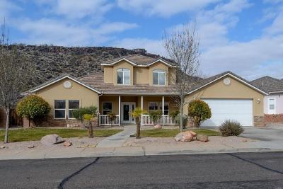 St George Single Family Home For Sale: 1027 N 1700 E