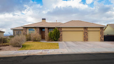 St George Single Family Home For Sale: 2934 S Circle Ridge Dr